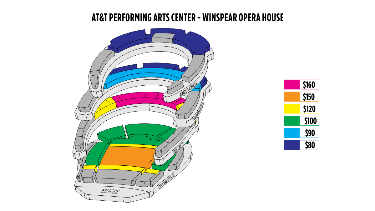 winspear seating chart: Ticketingbox shen yun 2018 dallas shen yun tickets